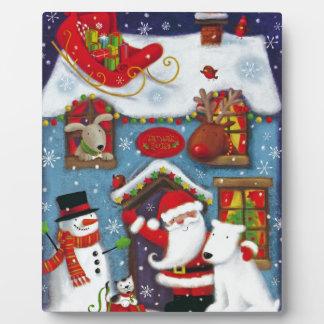 Santa's House Plaque