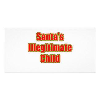 Santa's Illegitimate Child Photo Greeting Card