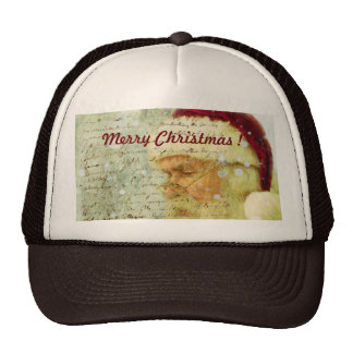Santas Letter Cap