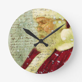 Santas Letter Wall Clocks