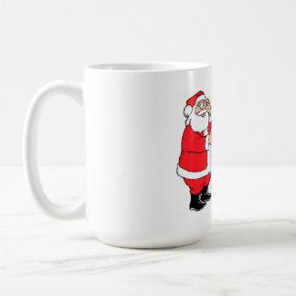 Santa's List Basic White Mug