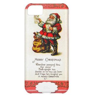 Santa's list iPhone 5C case