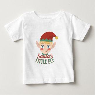 Santas Little Elf Baby T-Shirt