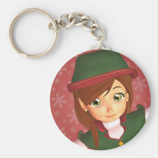 Santa's Little Elf Keychain