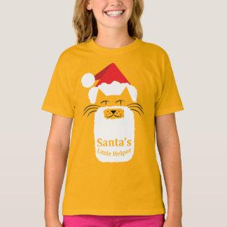 Santa's Little Helper - black whiskers T-Shirt