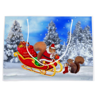 SANTA'S LITTLE HELPER LARGE GIFT BAG