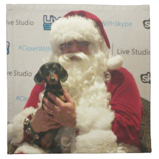 Santa's Little Helper Napkin