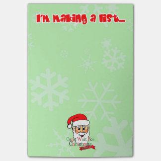Santa's Making A List Post-it® Notes
