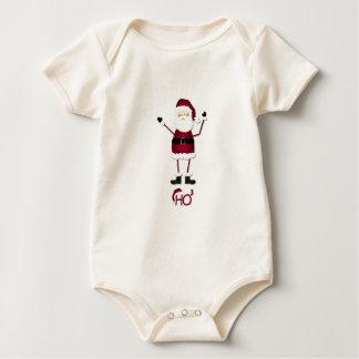 Santa's Math Baby Bodysuit
