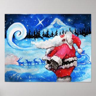 Santa's Moment Poster