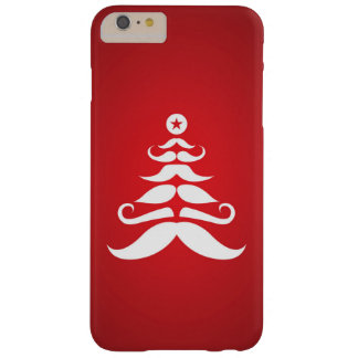 Santa's Mustache Christmas Tree Barely There iPhone 6 Plus Case