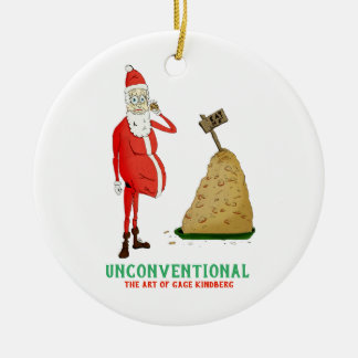 """Santa's Off-Season"" Ornament"