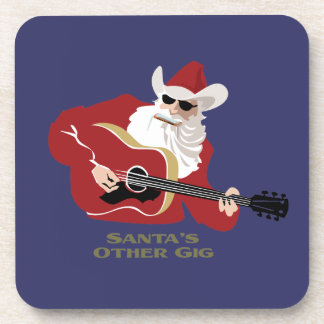 Santa's Other Gig Drink Coasters