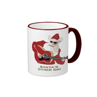 Santa's Other Gig Mugs