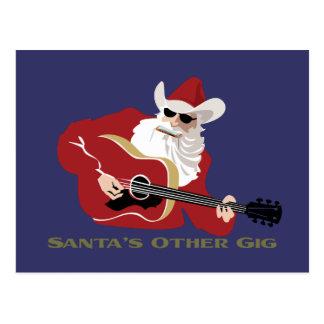 Santa's Other Gig Postcards