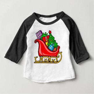 Santa's Sleigh Baby T-Shirt