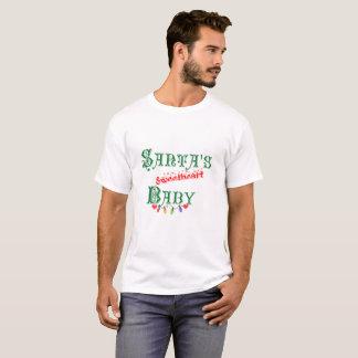 Santa's Sweetheart Baby Gift Christmas T-Shirt