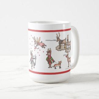 Santa's Team 15 oz. Mug