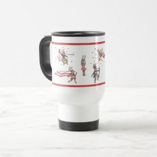 Santa's Team Travel Mug