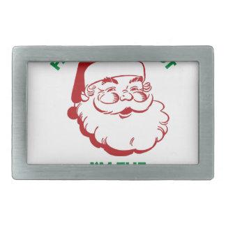 Santas The Realest Belt Buckles