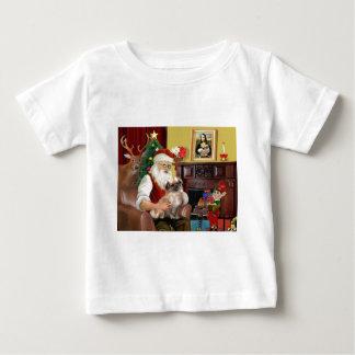 Santa's Tibetan Spaniel (#3) Baby T-Shirt