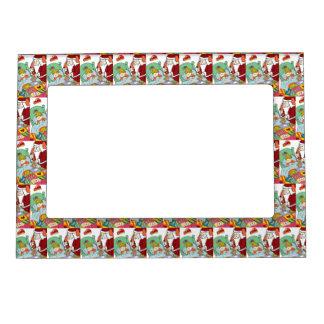 Santa's Visit II Magnetic Frame