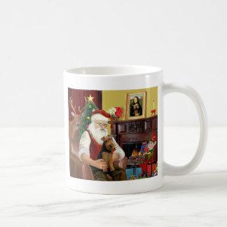 Santa's Welsh Terrier Coffee Mug