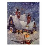 Santa's Workshop at the North Pole, Christmas Eve Post Card