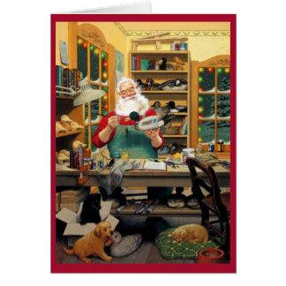 Santa's Workshop Card
