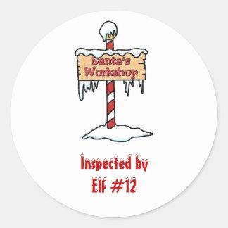 Santa's Workshop Sticker