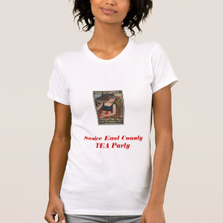 Santee East County TEA Party T-Shirt
