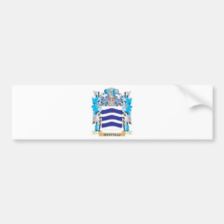 Santelli Coat of Arms - Family Crest Bumper Sticker