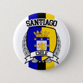 Santiago 6 Cm Round Badge