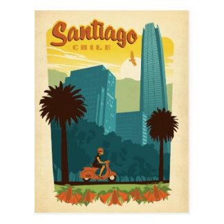 Santiago, Chile Postcard