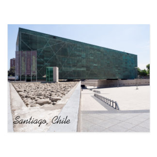 Santiago Chile Postcard