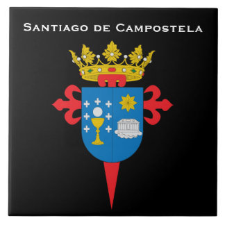 Santiago de Campostela* Spain Ceramic Tile