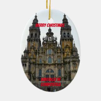 Santiago de Compostela Ceramic Ornament