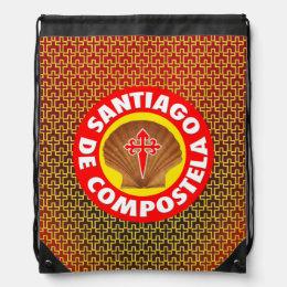 Santiago de Compostela Drawstring Bag