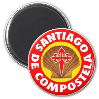 Santiago de Compostela Magnet