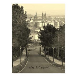 Santiago de Compostela Postcard