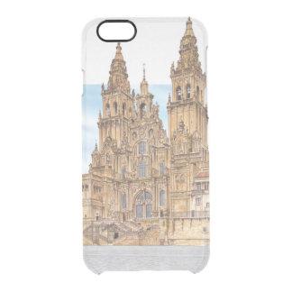 Santiago de Compostela. Western façade. Spain Clear iPhone 6/6S Case