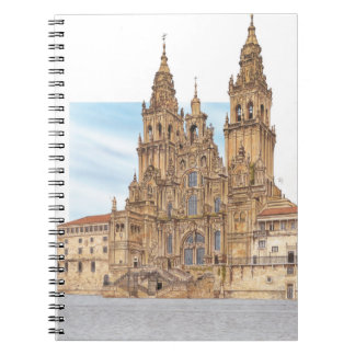 Santiago de Compostela. Western façade. Spain Spiral Notebook