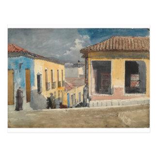 Santiago de Cuba, Street Scene by Winslow Homer Postcard