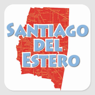 Santiago del Estero Square Sticker