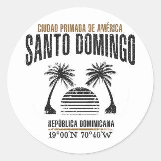 Santo Domingo Classic Round Sticker