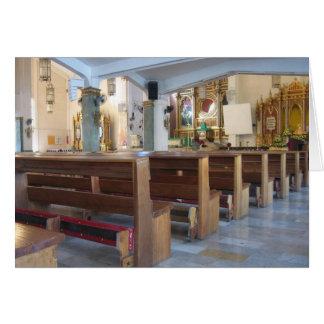 Santo Niño Church Greeting Card