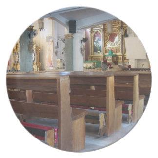 Santo Niño Church Plates