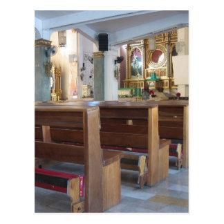 Santo Niño Church Postcard