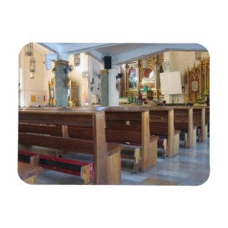 Santo Niño Church Rectangular Photo Magnet