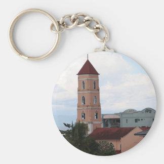 Santo Niño Church, Tacloban City Basic Round Button Key Ring